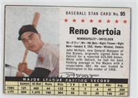 Reno Bertoia (Hand Cut) [Authentic]