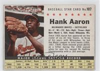 Hank Aaron (Hand Cut) [Authentic]