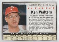 Ken Walters (Hand Cut) [GoodtoVG‑EX]