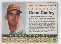Gene Conley (Hand Cut) [GoodtoVG‑EX]