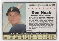 Don Hoak (Hand Cut) [PoortoFair]