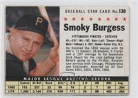 Smoky Burgess (Hand Cut) [PoortoFair]