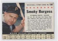 Smoky Burgess (Hand Cut) [GoodtoVG‑EX]