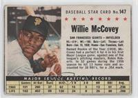 Willie McCovey (Hand Cut) [Poor to Fair]