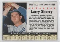 Larry Sherry (Hand Cut) [Authentic]