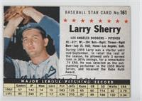 Larry Sherry (Hand Cut) [Good to VG‑EX]