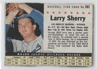 Larry Sherry (Hand Cut)