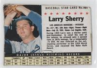 Larry Sherry (Hand Cut) [Poor to Fair]