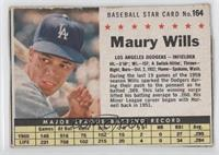 Maury Wills [Authentic]