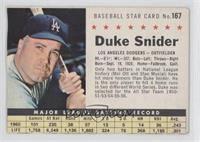 Duke Snider (Hand Cut) [Good to VG‑EX]