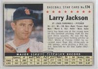 Larry Jackson (Hand Cut) [GoodtoVG‑EX]