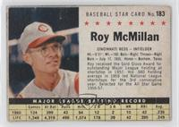 Roy McMillan [Good to VG‑EX]