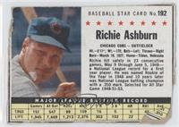Richie Ashburn (Hand Cut) [Good to VG‑EX]