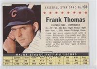 Frank Thomas (Hand Cut)