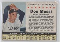 Don Mossi [GoodtoVG‑EX]
