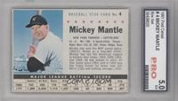 Mickey Mantle (Perforated) [ENCASED]