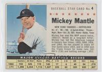 Mickey Mantle (Perforated) [Poor to Fair]