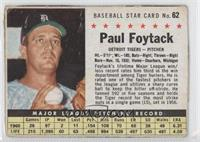 Paul Foytack (hand cut) [Authentic]