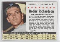 Bobby Richardson (Hand Cut)
