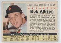 Bob Allison (Perforated)