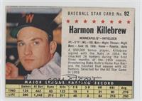 Harmon Killebrew (Hand Cut)