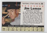 Jim Lemon (Perforated)