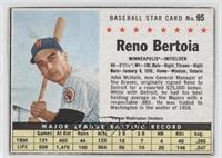 Reno Bertoia [Good to VG‑EX]
