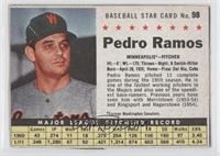Pedro Ramos [Authentic]