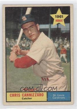 1961 Topps - [Base] #118 - Chris Cannizzaro