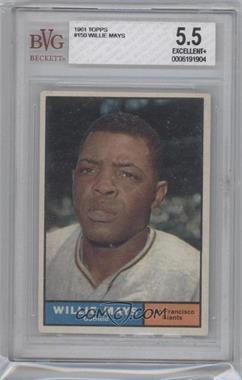 1961 Topps - [Base] #150 - Willie Mays [BVG5.5]
