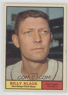 1961 Topps - [Base] #187 - Billy Klaus