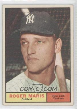 1961 Topps - [Base] #2 - Roger Maris [Good to VG‑EX]