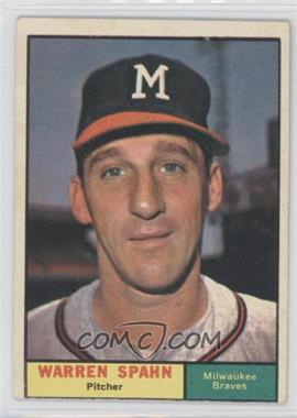 1961 Topps - [Base] #200 - Warren Spahn