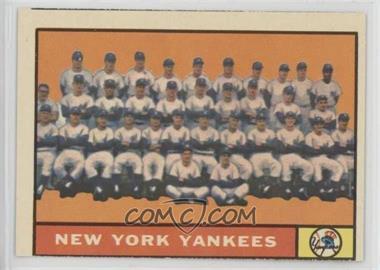 1961 Topps - [Base] #228 - New York Yankees Team