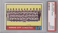 Kansas City Athletics Team [PSA9(OC)]