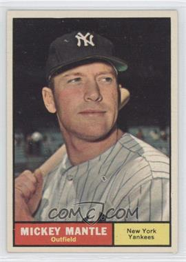 1961 Topps - [Base] #300 - Mickey Mantle