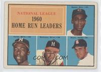 N.L. Home Run Leaders (Ernie Banks, Hank Aaron, Eddie Mathews, Ken Boyer) [Good…