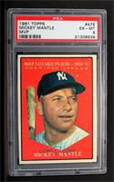 American League Most Valuable Player (Mickey Mantle) [PSA 6]