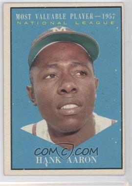 1961 Topps - [Base] #484 - Hank Aaron
