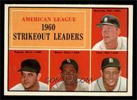 American League 1960 Strikeout Leaders (Jim Bunning, Pedro Ramos, Early Wynn, F…