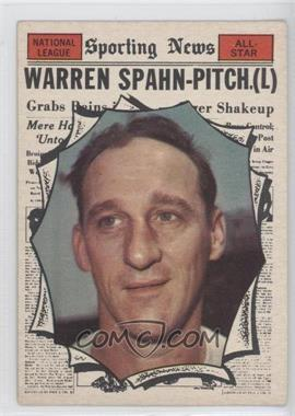 1961 Topps - [Base] #589 - Warren Spahn