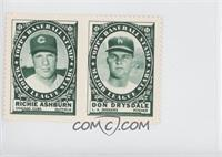 Richie Ashburn, Don Drysdale