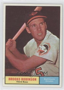 1961 Topps #10 - Brooks Robinson