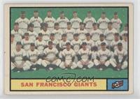 San Francisco Giants Team [GoodtoVG‑EX]