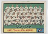 San Francisco Giants Team [Good to VG‑EX]