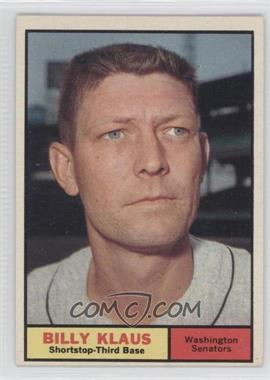 1961 Topps #187 - Billy Klaus