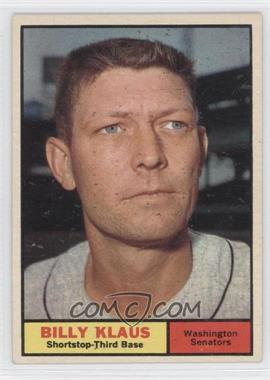 1961 Topps #187 - Billy Klaus