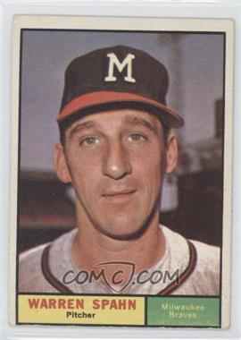1961 Topps #200 - Warren Spahn