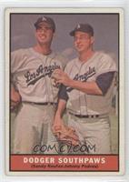 Dodger Southpaws (Sandy Koufax, Johnny Podres)
