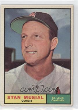 1961 Topps #290 - Stan Musial